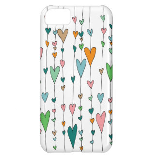 Heart Strings Cover For iPhone 5C