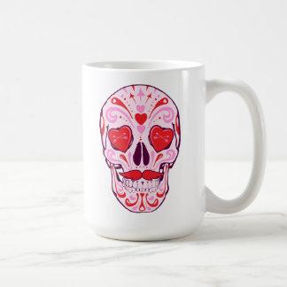 Heart Sugar Skull Coffee Mug