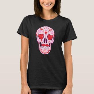 Heart Sugar Skull T-Shirt