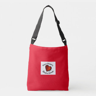 Heart surgery Survivor Crossbody Bag