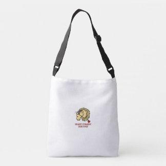 Heart Surgery Survivor Lion Crossbody Bag