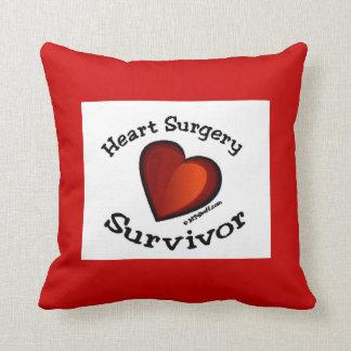 Heart Surgery Survivor Pillow Cushions