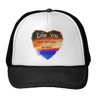 HEART SWEETHEART LOVE CAP