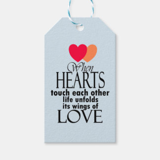 Heart Symbol Love Famous Quote On Gift Tags