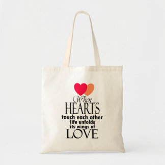 Heart Symbol Love Famous Quote On Tote Bag