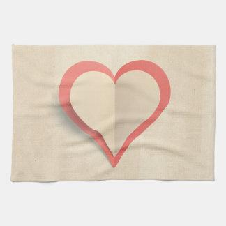Heart Tea Towel