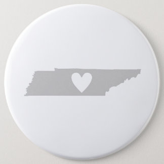 Heart Tennessee state silhouette 6 Cm Round Badge
