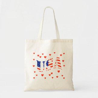 Heart the USA Tote Bag