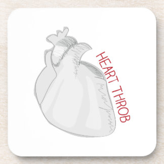 Heart Throb Drink Coasters