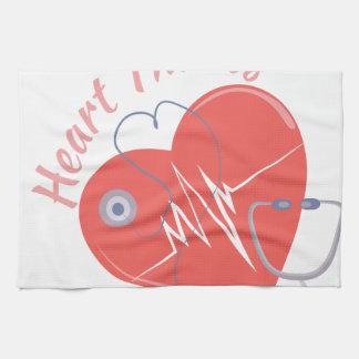 Heart Throbs Kitchen Towel