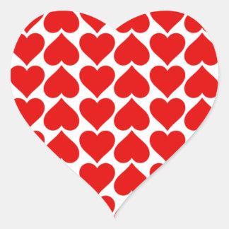 Heart Tiles sticker