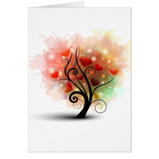 Heart Tree Card