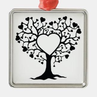 Heart Tree Christmas Tree Ornaments