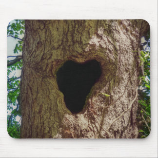 Heart Tree Mouse Pad