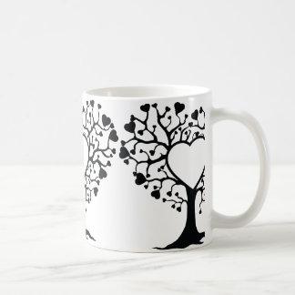 Heart Tree Coffee Mugs