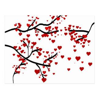Heart Tree Postcard