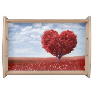 Heart Tree Serving Tray