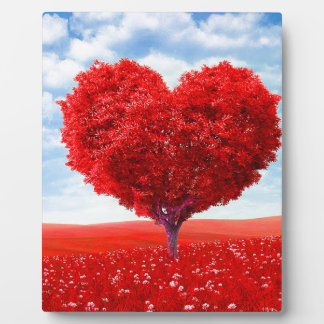 Heart Tree Valentine Plaque