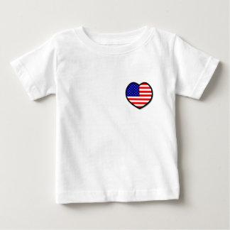 Heart USA Infant T-shirt