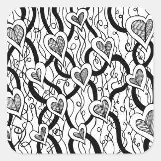 Heart Vine Stickers