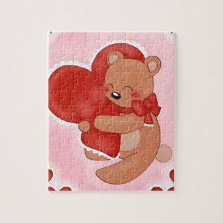 Heart Warming Teddybear Jigsaw Puzzle