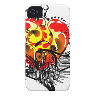 Heart & Wing iPhone 4 Case-Mate Case