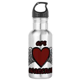 Heart/Wings...APS 532 Ml Water Bottle