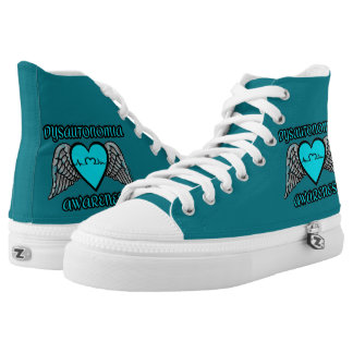 Heart/Wings...Dysautonomia High Tops