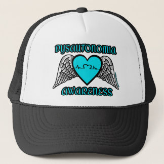 Heart/Wings...Dysautonomia Trucker Hat