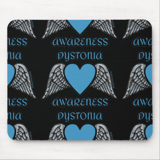 Heart/Wings...Dystonia Mouse Pad