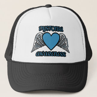 Heart/Wings...Dystonia Trucker Hat