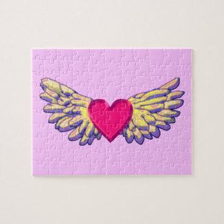 heart Wings Jigsaw Puzzle