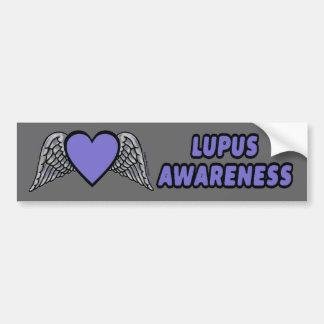Heart/Wings...Lupus Bumper Sticker