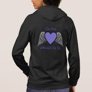 Heart/Wings...Lupus Hoodie