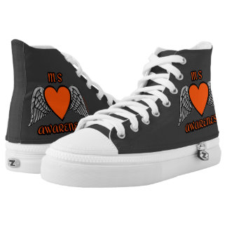 Heart/Wings...MS High Tops