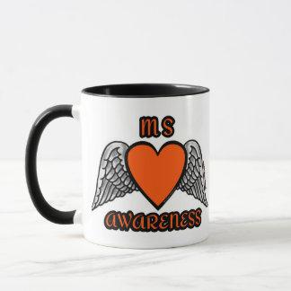 Heart/Wings...MS Mug