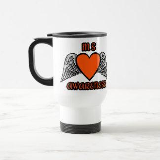 Heart/Wings...MS Travel Mug
