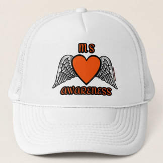Heart/Wings...MS Trucker Hat