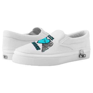 Heart/Wings...P.O.T.S. Slip-On Shoes