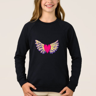 heart Wings Sweatshirt