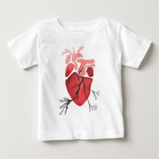 Heart With Branches Baby T-Shirt