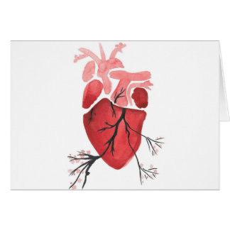 Heart With Branches Card
