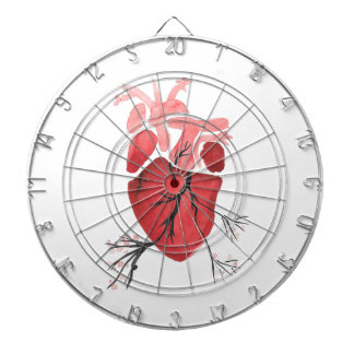 Heart With Branches Dartboard