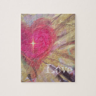 HEART WITH CROSS JIGSAW PUZZLE