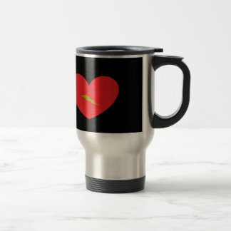Heart with Lightening Bolt Mug