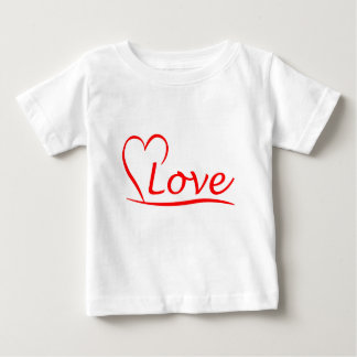 Heart with love baby T-Shirt