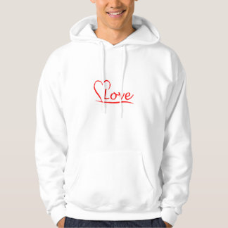 Heart with love hoodie