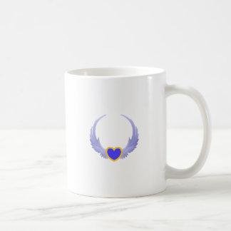 Heart With Wings Coffee Mug