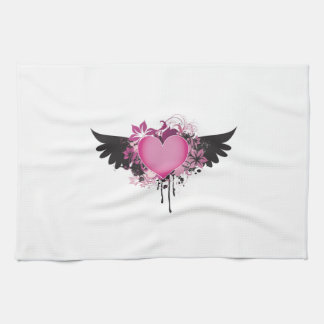Heart with Wings Towel