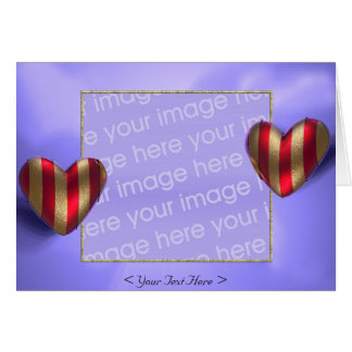 Heart Wraps 2 (photo frame) Card